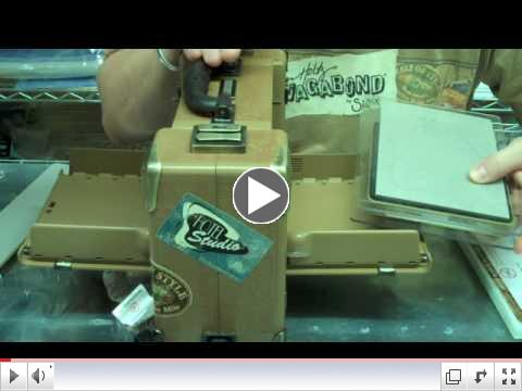 To Watch Tim Holtz Demonstrate Click Here