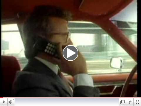 1980's Motorola DynaTAC promotional video