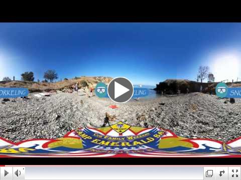 A 360 tour of Camp Emerald Bay during Cub Parent Weekend!
