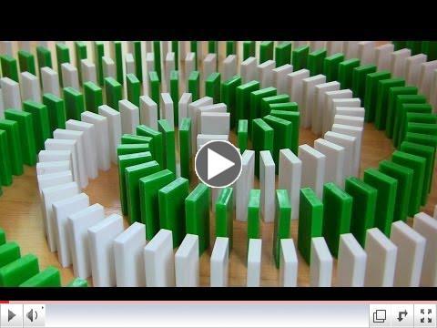 Insane Domino Tricks!