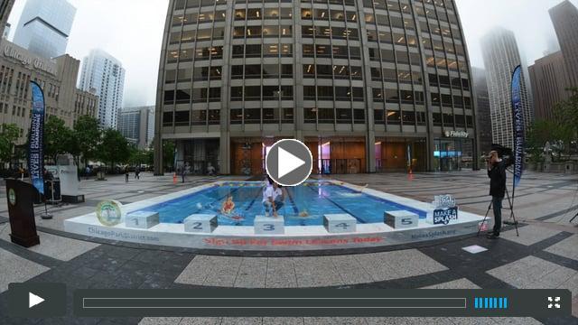 2015 Make a Splash Tour,  3-D Pool