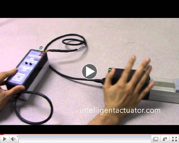 IAI ERC3 and Quick Teach Controller - Quick and Easy Teaching Instruction for Electric Actuator