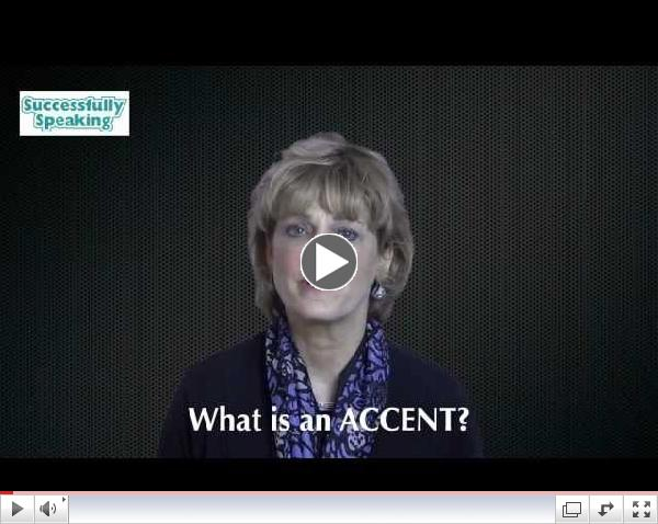 Successfully Speaking   Accent Modification Training