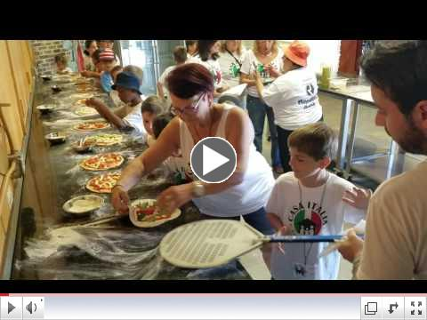 Pizza Making Day - Video Clip #5 - Summer Camp, Day 7 - June 27, 2017