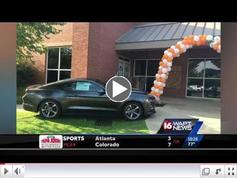 17-year-old Wins New Ford Mustang