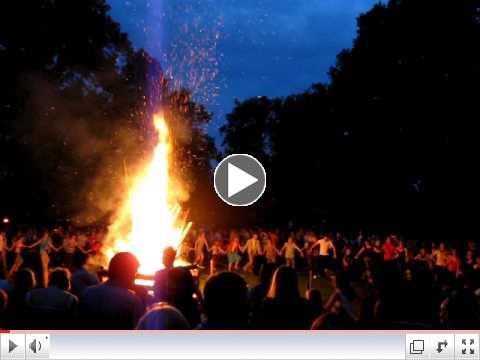 Midsummer Bonfire 2009 (Lithuania)