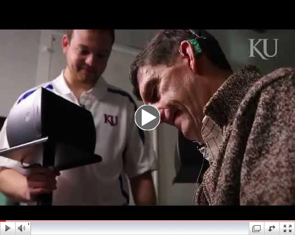 KU undergrad conducts research in electrical hearing lab