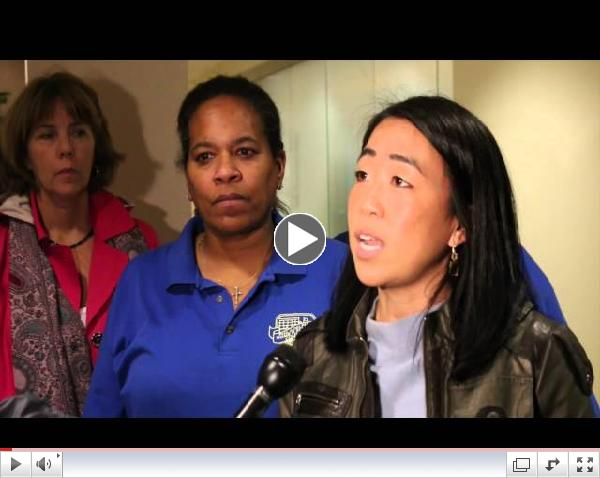 Taxi Workers and Parents Speak out at the Philly Parking Authority Board Meeting