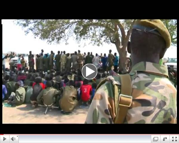 Hundreds of child soldiers to be released by South Sudan militia/ BBC