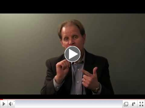 Dr. Dan Siegel uses his hand to explain what's happening in our brains when we
