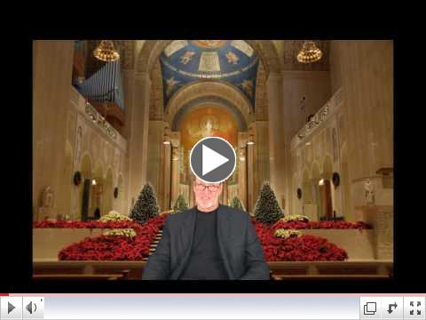 Mr. McLaughlin presents the Tuesday Tidbits Overview from the Shrine of the National Basilica