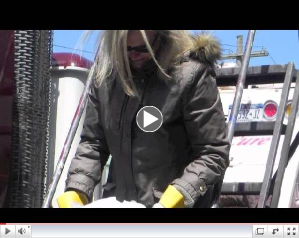 Energy Vision's White Cloth Test - Diesel vs CNG Emissions