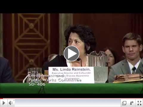 Linda Reinstein Testimony at U.S. Senate EPW Hearing on Addressing Toxic Chemical Threats