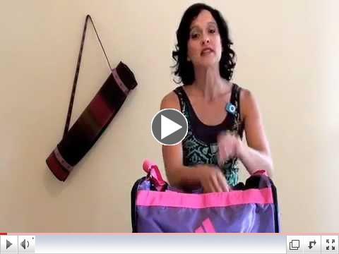How 2 Organize a Gym Bag
