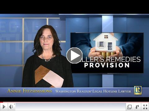 Seller's Remedies Provision