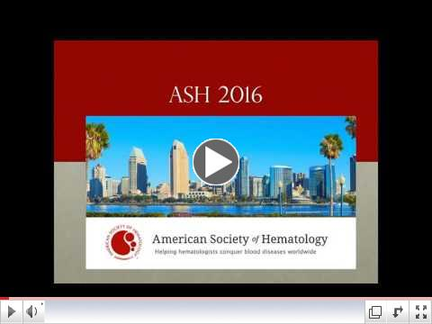 The Best of ASH 2016: What Patients and Caregivers Need to Know