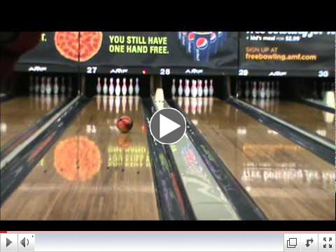 Cliff Barnes Pro Shop- Gerald Richardson & Garland Amick Throwing the Ebonite Cyclone