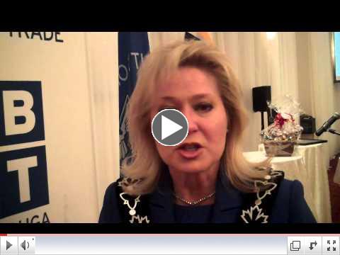Mayor Bonnie Crombie at MBOT AGM 2014