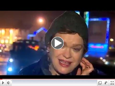 An Irish reporter's very dramatic weather report