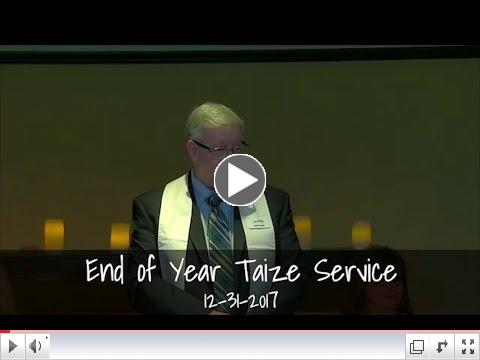 End Of Year Taize Service