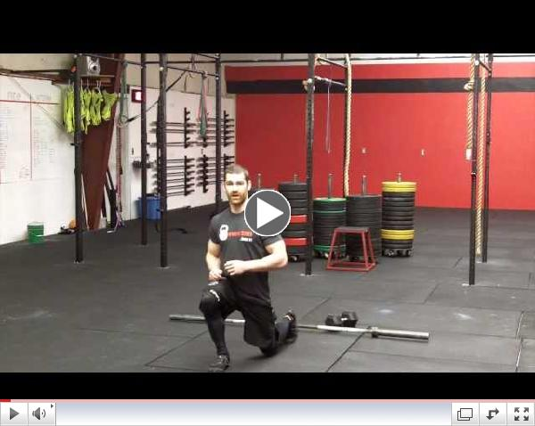 CrossFit Lunge (with variations) - Northstate CrossFit