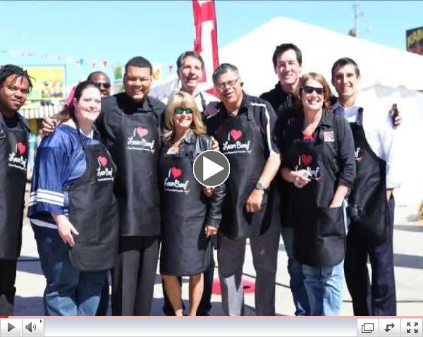 Celebrity Grilling Contest Teams