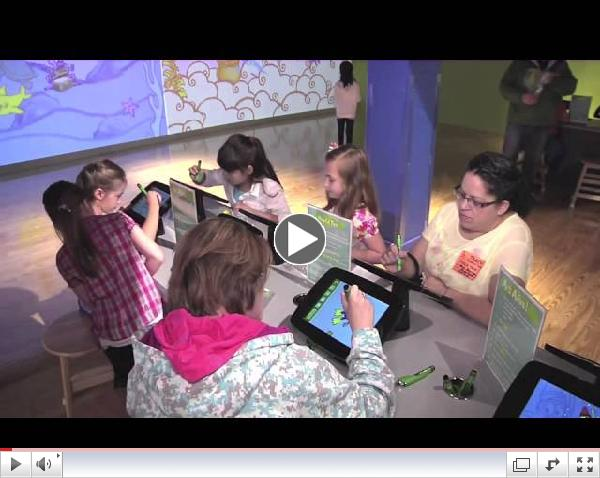 GestureTek uses Mobile Application to create 'Art Alive!' for the Crayola Experience