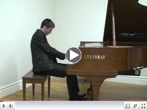 Veselin Ninov plays Liszt - Hungarian Rhapsody no.12