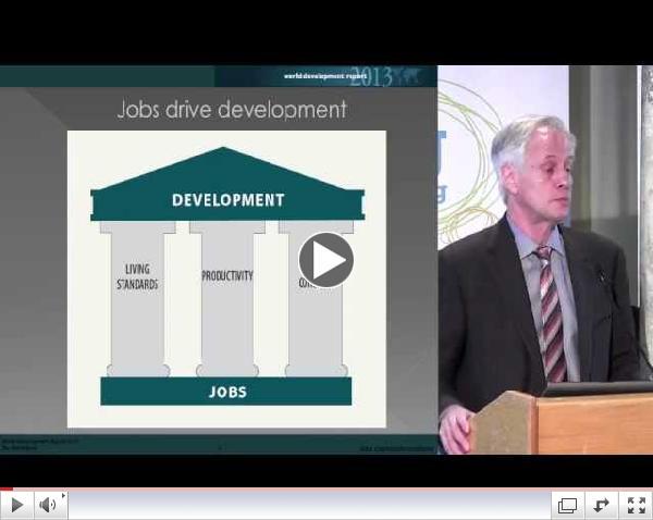 Jobs first: Rethinking development around the globe with Gordon Betcherman