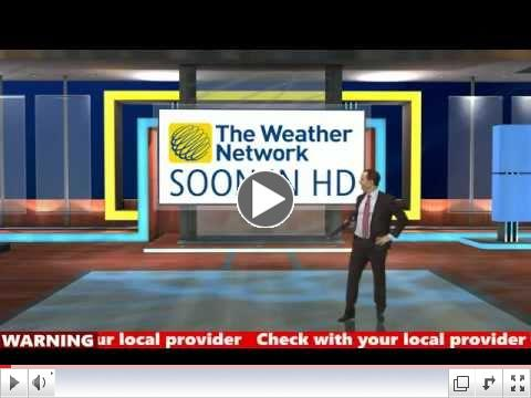 The Weather Network HD Promo - Rory O'Shea Voiceover