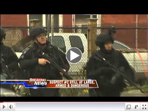 Systematic House-to-House Raids in Locked-Down Watertown, Massachusetts