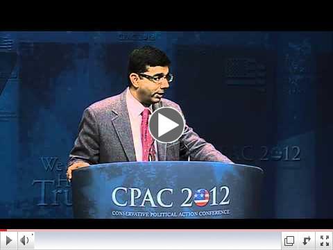 Dinesh D'Souza - CPAC 2012 speech