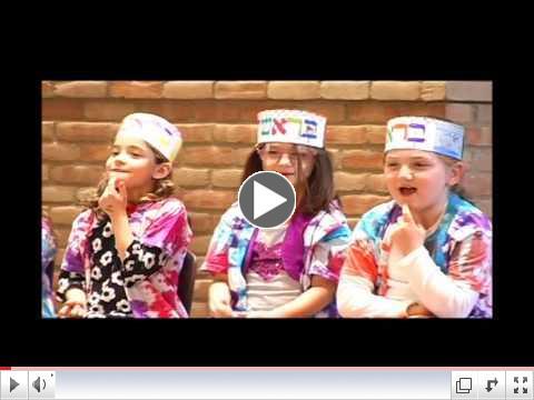 Kindergarten Breishit Siyum
