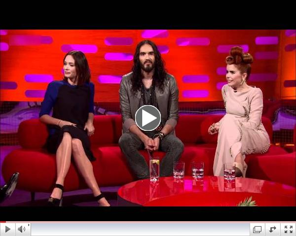 The Graham Norton Show 2012 S11x10 Emily Blunt, Russell Brand, Paloma Faith. Part 1