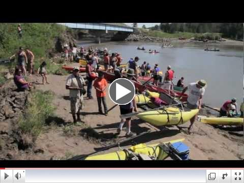 Paddle for the Peace Builds Momentum Against Site C Dam