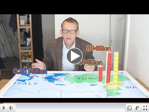 Hvar eru s�rlensku fl�ttamennirnir? Hans Rosling svarar.