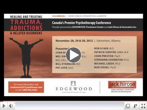Trauma, Addictions and Related Disorders Conference 2012