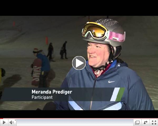 Disabled Skiing Program, Edmonton; Carrie Anton