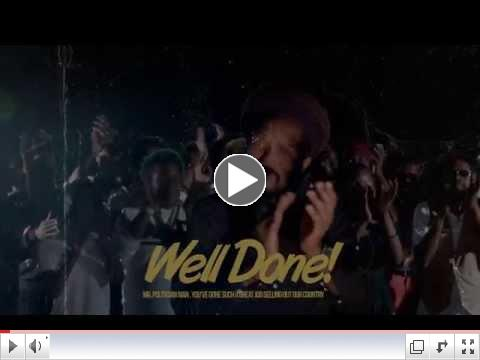 """Kabaka Pyramid Release Video """"Well Done"""" 6"""