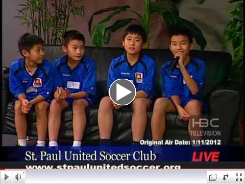 St. Paul United Soccer -Hmong Kids Going Abroad to Play Soccer _HBCTV