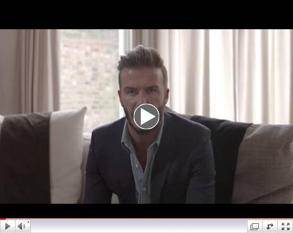 David Beckham and UNICEF: Call on World Leaders To Put Children First