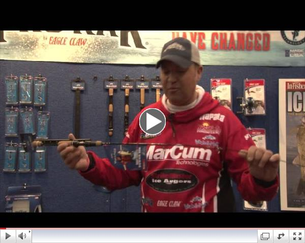 Tony Roach Signature Series Ice Rods and Reels