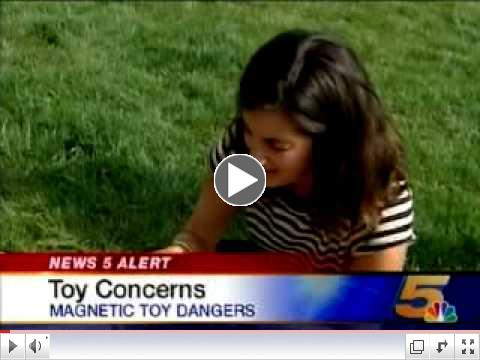 Dangers Of Magnetic Toys