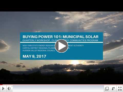 Buying Power 101: Municipal Solar