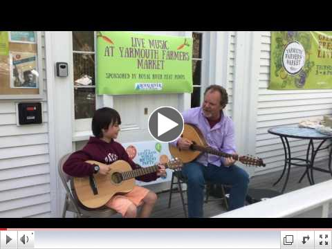 Music On The Porch at the June 1st Farmers Market