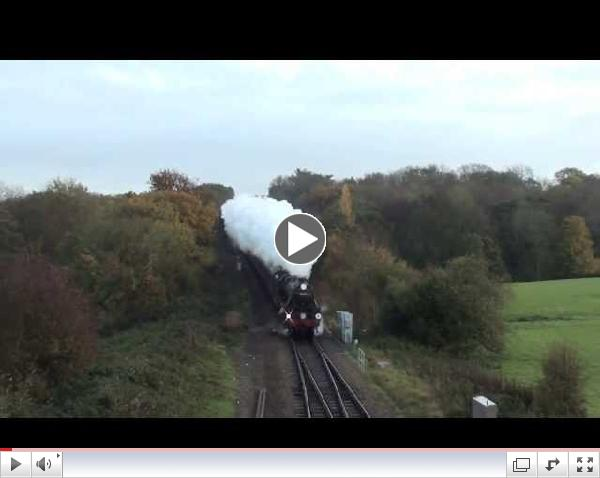 34046 Braunton and 44932 - The Blue Bell Explorer - 09/11/13