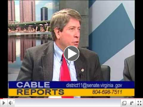 Click to watch: Senator Martin Speaking on VCTA Cable Reports