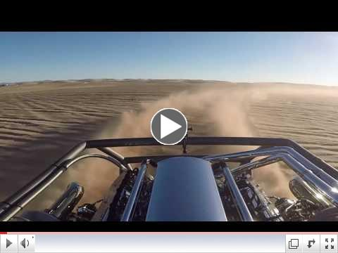 Racer X 143 MPH at Glamis
