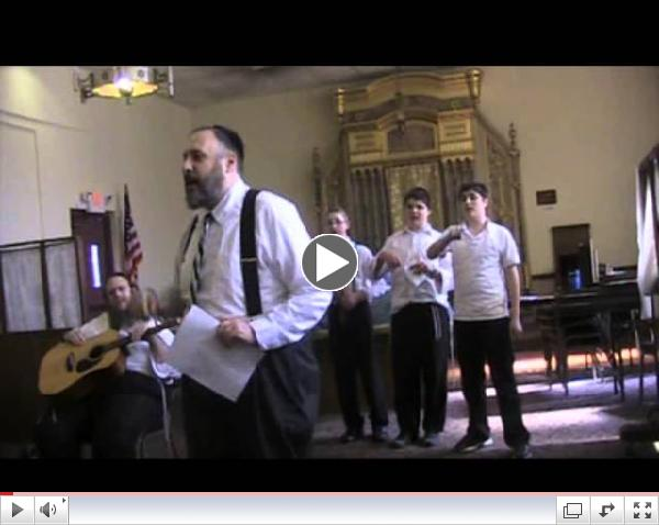 Hillel Academy of Pittsburgh Purim Rap 5774 - Rabbi Nim & The Nimets