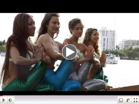 Behind The Scenes: Mermaid Yogis